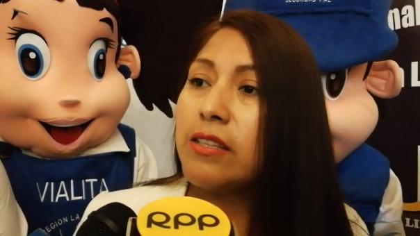 La gerente regional Edith Chuco.