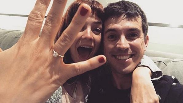 El actor Jesús Alzamora le jugó bromas a su novia María Paz previo a su boda civil.