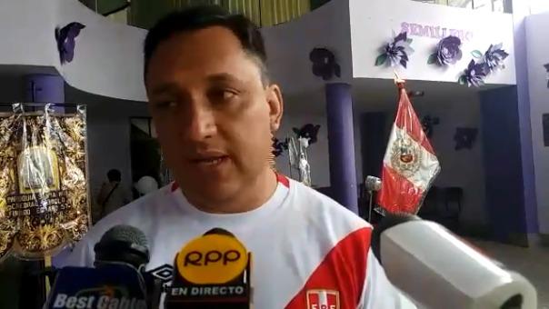 Presidente de la Hermandad del Cristo Morado, Francisco Morales Chavarry.