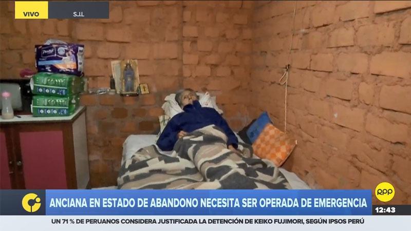 La señora Emilia Escobar Durán tiene pie diabético y requiere atención médica para tratar su enfermedad.