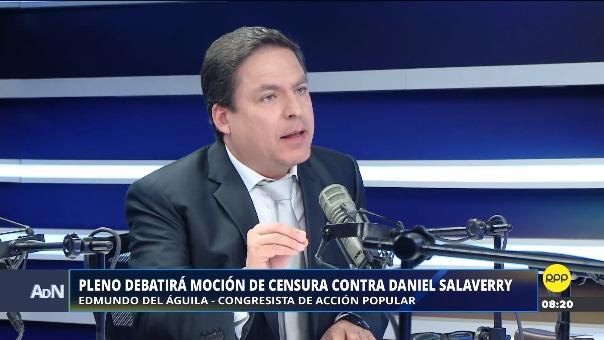 Pleno debatirá moción de censura contra Daniel Salaverry.