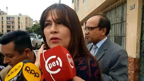 Presidenta de la Junta de Fiscales, Mariana Vásquez.