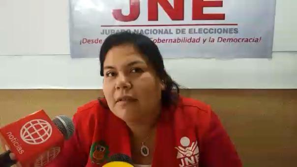 Zapata, sostuvo que no existe ningún pedido de nulidad de las elecciones en el distrito de Inkawasi.