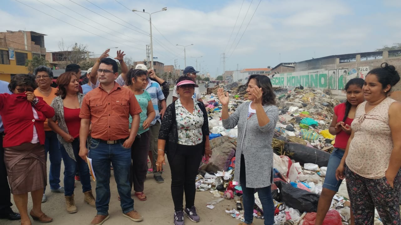 Protesta de pobladores de José Leonardo Ortiz.