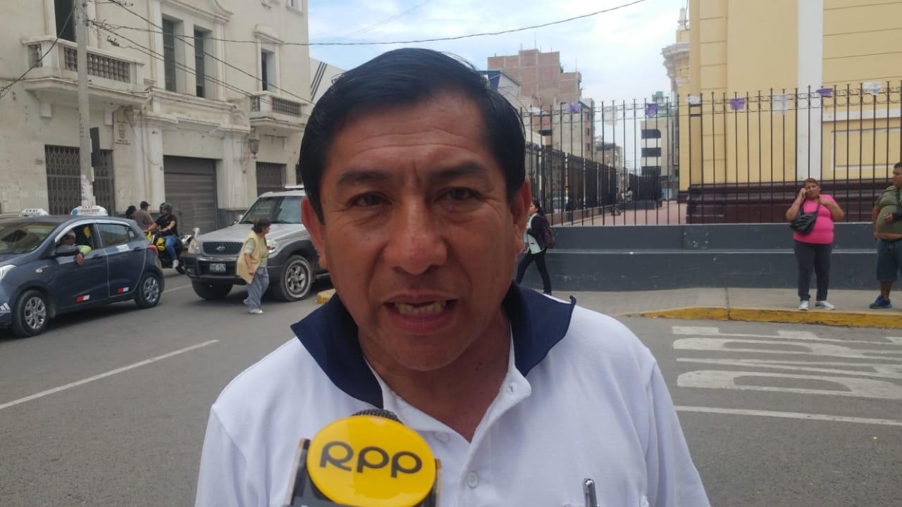 Jefe del Coer Lambayeque, Manuel Yerrén.