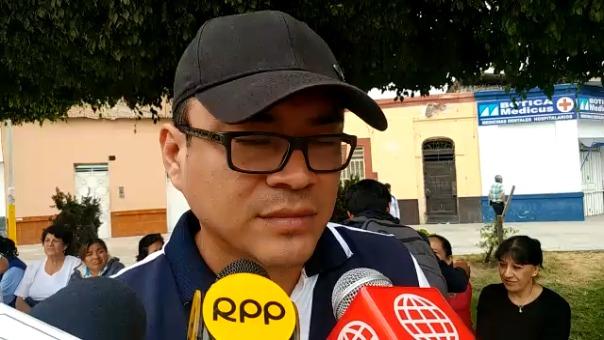 Jefe de la Estrategia Sanitaria de Enfermedades Metaxénicas, Alder Isla Peche.