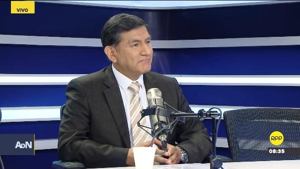 Carlos Morán, nuevo ministro del Interior, en entrevista con RPP Noticias.