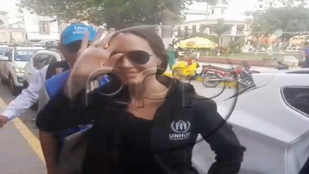 Angelina Jolie en Tumbes