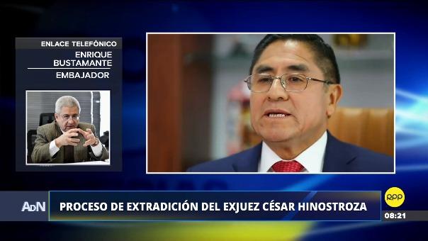 Enrique Bustamante es director general de Comunidades Peruanas en el Exterior y Asuntos Consulares.