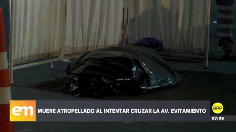 El accidente ocurrió a la altura de la avenida Zarumilla, en San Martín de Porres.