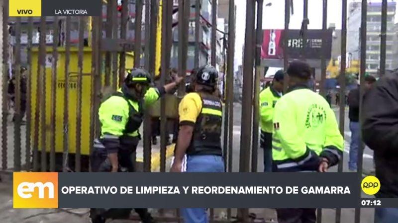 Más de 600 policías participaron en este operativo.