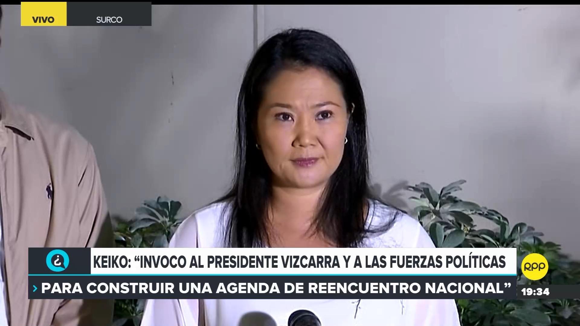 La lideresa de Fuerza Popular afronta un pedido de 36 meses de prisión preventiva.
