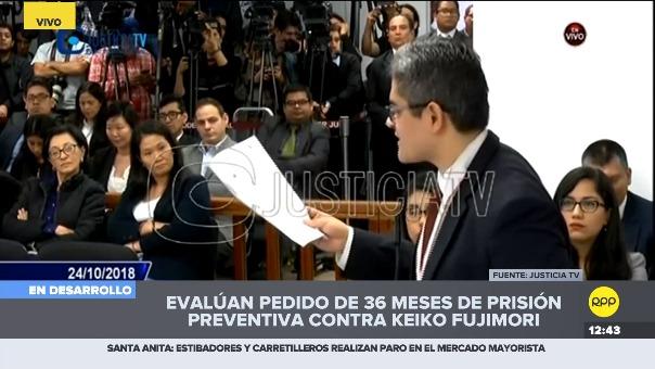 Chat de Telegram contenía coordinaciones dentro de Fuerza Popular para desprestigiar al fiscal tras un viaje a México.