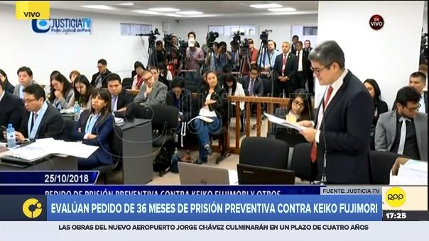 Pérez Gómez en la audiencia de prisión preventiva.