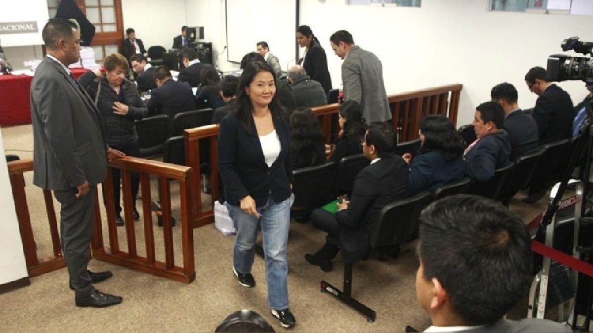 Sobre la lideresa de Fuerza Popular pesa un pedido de prisión preventiva de 36 meses. El juez Richard Concepción Carhuancho deberá decidir si aprueba la medida o no.