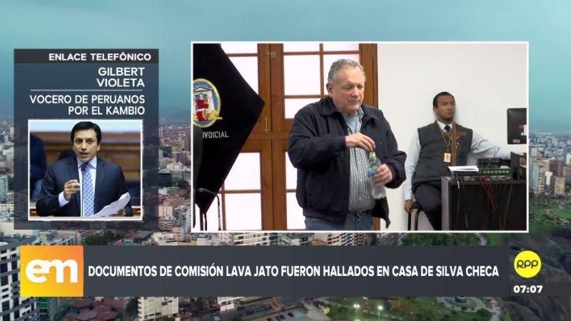 Gilbert Violeta en entrevista con RPP Noticias.