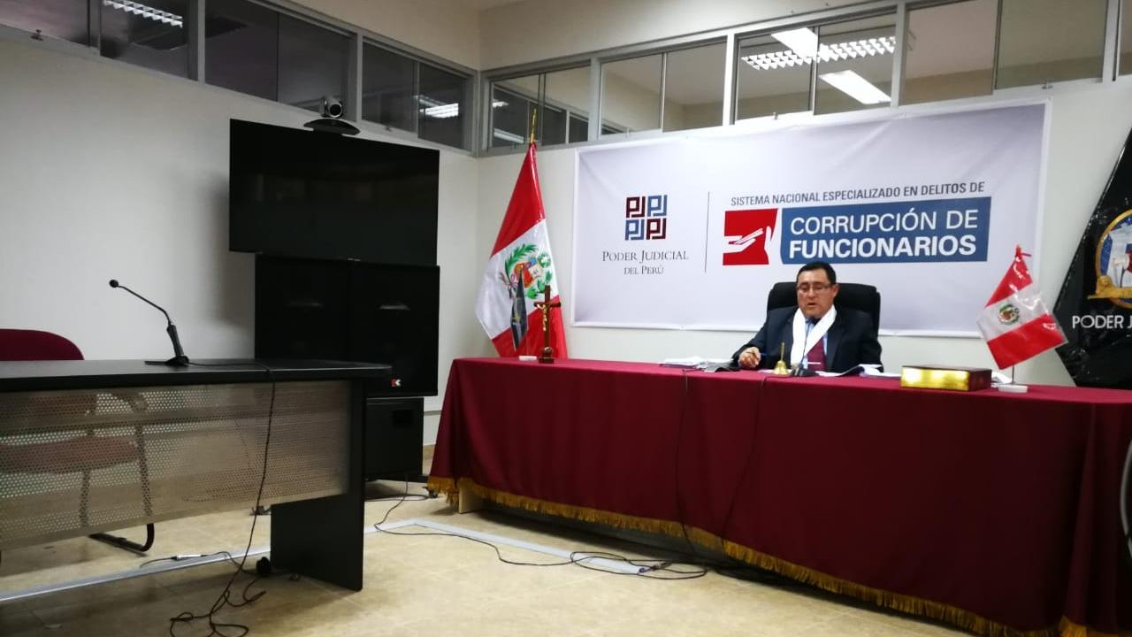 El alcalde de Víctor Larco, Carlos Vásquez, no estuvo presente en la audiencia. El 31 de este mes será leída la sentencia completa.