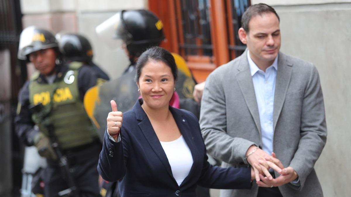 Keiko Fujimori enfrenta un pedido de prisión preventiva.