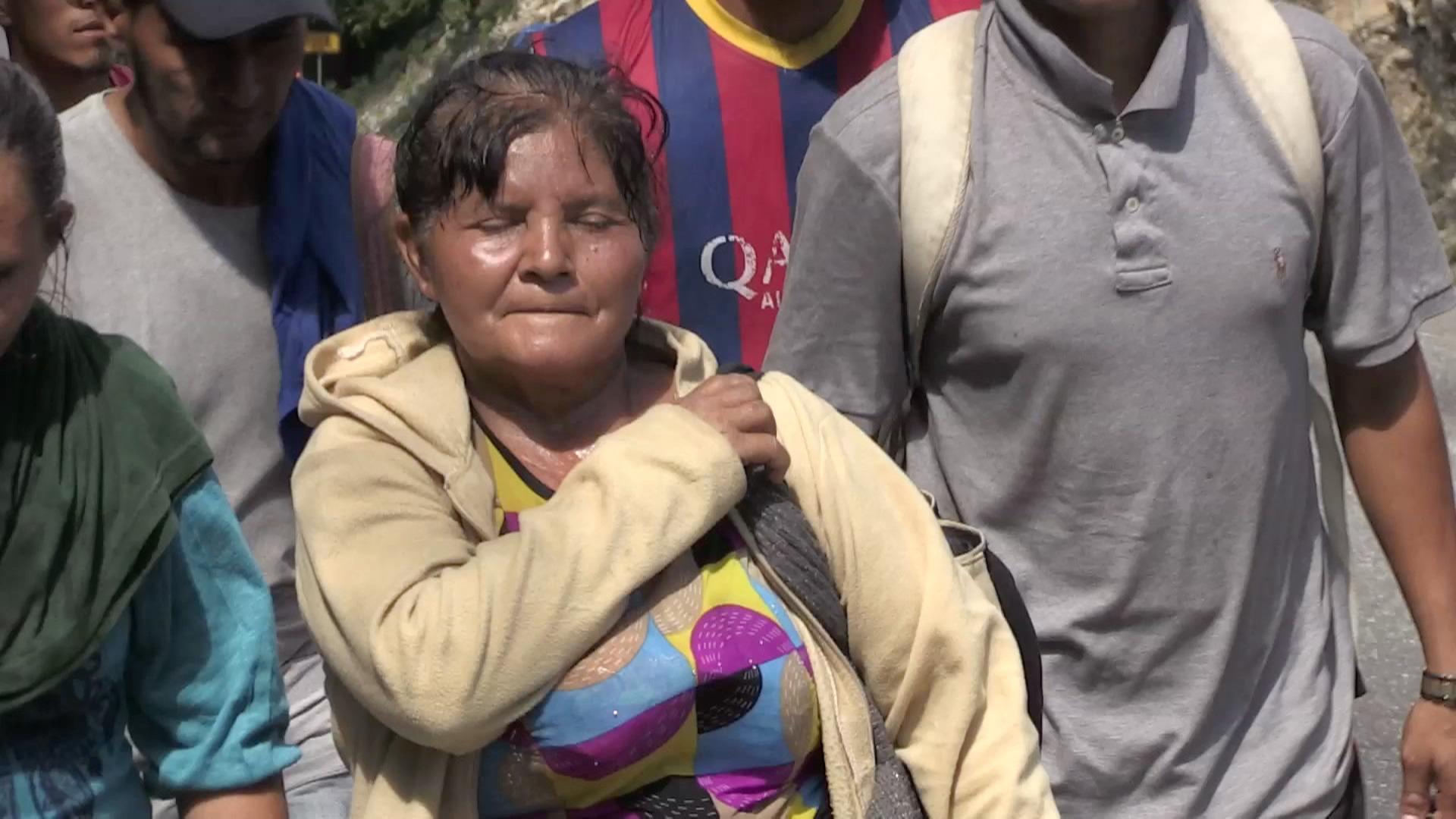 La historia de Antonia Ardón, migrante hondureña.