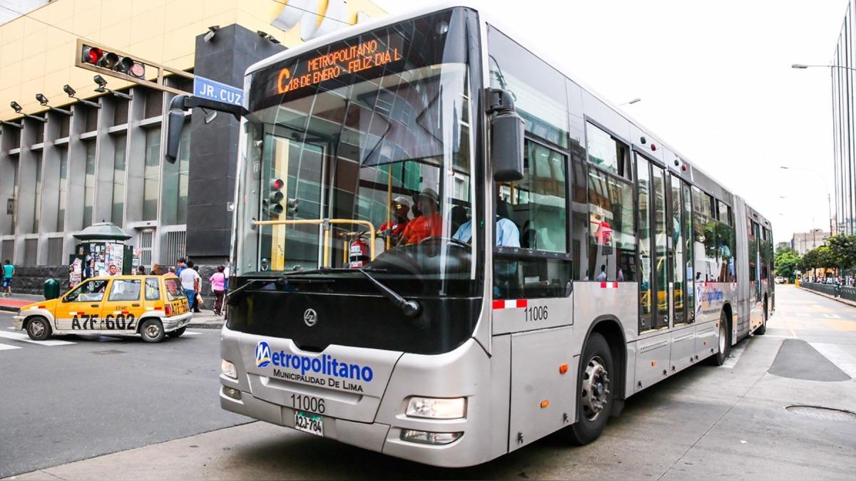 El pasaje del Metropolitano subirá desde el 1 de noviembre.