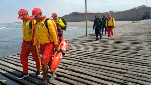 Limpian residuos que se hallaban en fondo del mar de Ciudad Eten