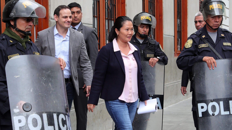Keiko Fujimori volvió a criticar la audiencia de prisión preventiva en su contra.