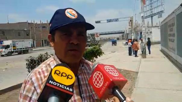 Alcalde de JLO, Epifanio Cubas supervisó campaña.