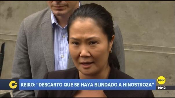 Keiko Fujimori habló sobre chat de 'La Botica'.