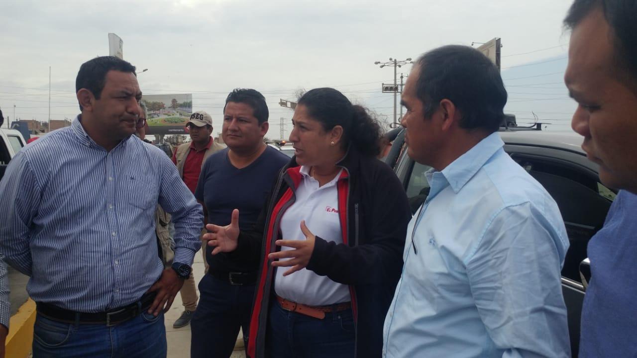 Ministra dijo que José Leonardo Ortiz fue priorizado para su intervención en el manejo de residuos.