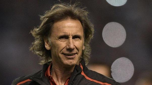 Ricardo Gareca, entrenador de la Selección Peruana.