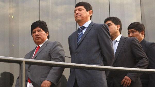 El vicepresidente de la FPF, Agustín Lozano, en Chiclayo.
