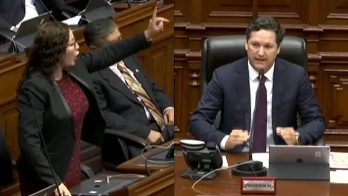 Rosa Bartra y Salaverry discutieron en el Pleno del Congreso.