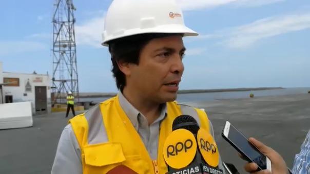 El gerente general de Salaverry Terminal Internacional, Diego Casinelli Montes.