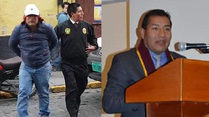 Huamaní permanece en la sección de Homicidios del Departamento de Investigación Criminal (Depincri).