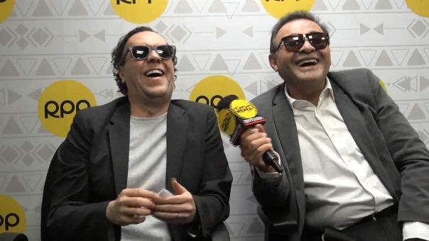 Mario Castañeda y René García realizaron un divertido intercambio de voces de doblaje.