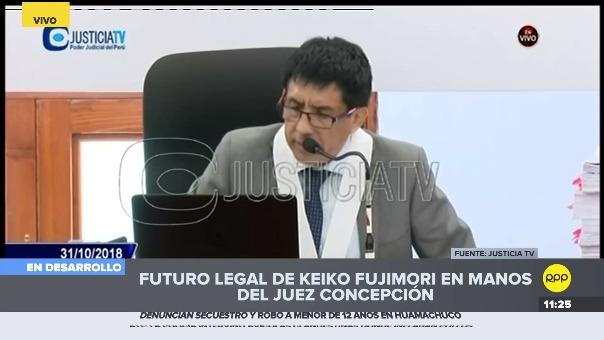 Las apreciaciones del juez Richard Concepción sobre los chats de 'La Botica'.