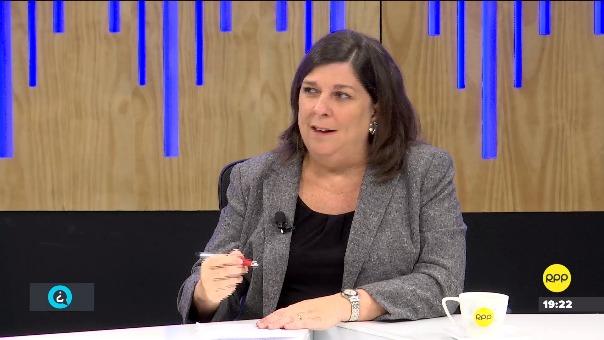 Rosa María Palacios indicó que la prisión preventiva contra Keiko Fujimori es parte de un juicio.
