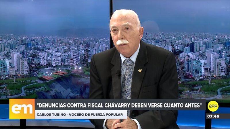 Carlos Tubino estuvo esta mañana en RPP Noticias.