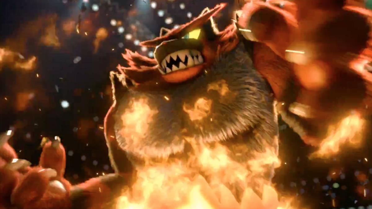 Incineroar es un personaje que utiliza una gran cantidad e movimientos basados en la lucha libre.