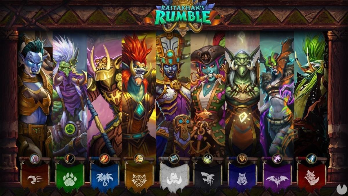 Cada clase estará representada por un personaje trol icónico y un dios Loa.