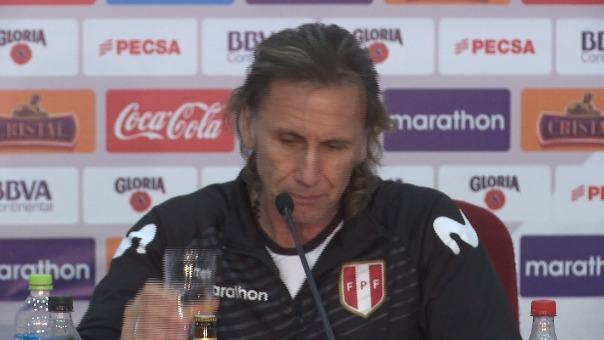 Ricardo Gareca anuncia la lista de convocatoria de la Selección Peruana.