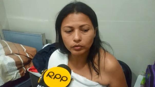 Ella agradece las enormes muestras de cariño de todos los peruanos.