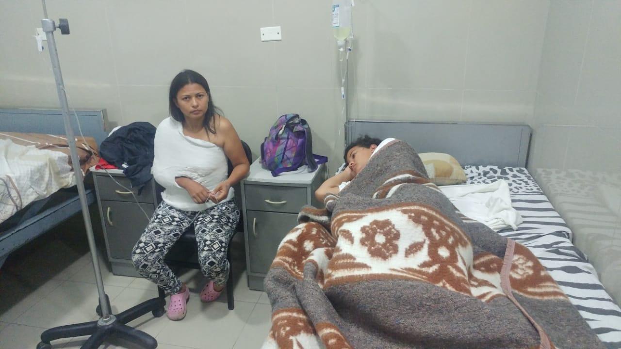 Bus con decenas de inmigrantes venezolanos se volcó en Lambayeque y varios resultaron heridos.