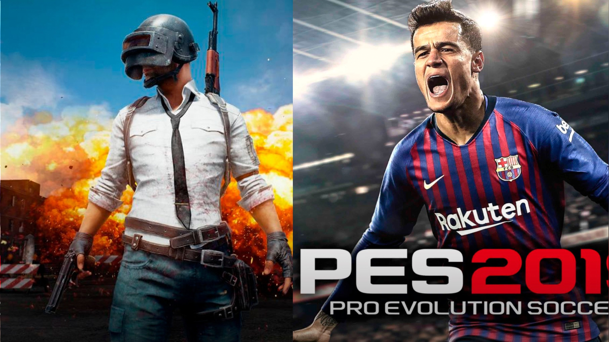 Playerunknown S Battleground Y Pes 2019 Gratis Para Xbox One Rpp