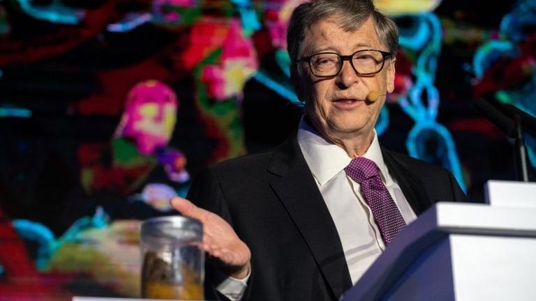 Bill Gates es uno de los hombres más ricos del mundo.