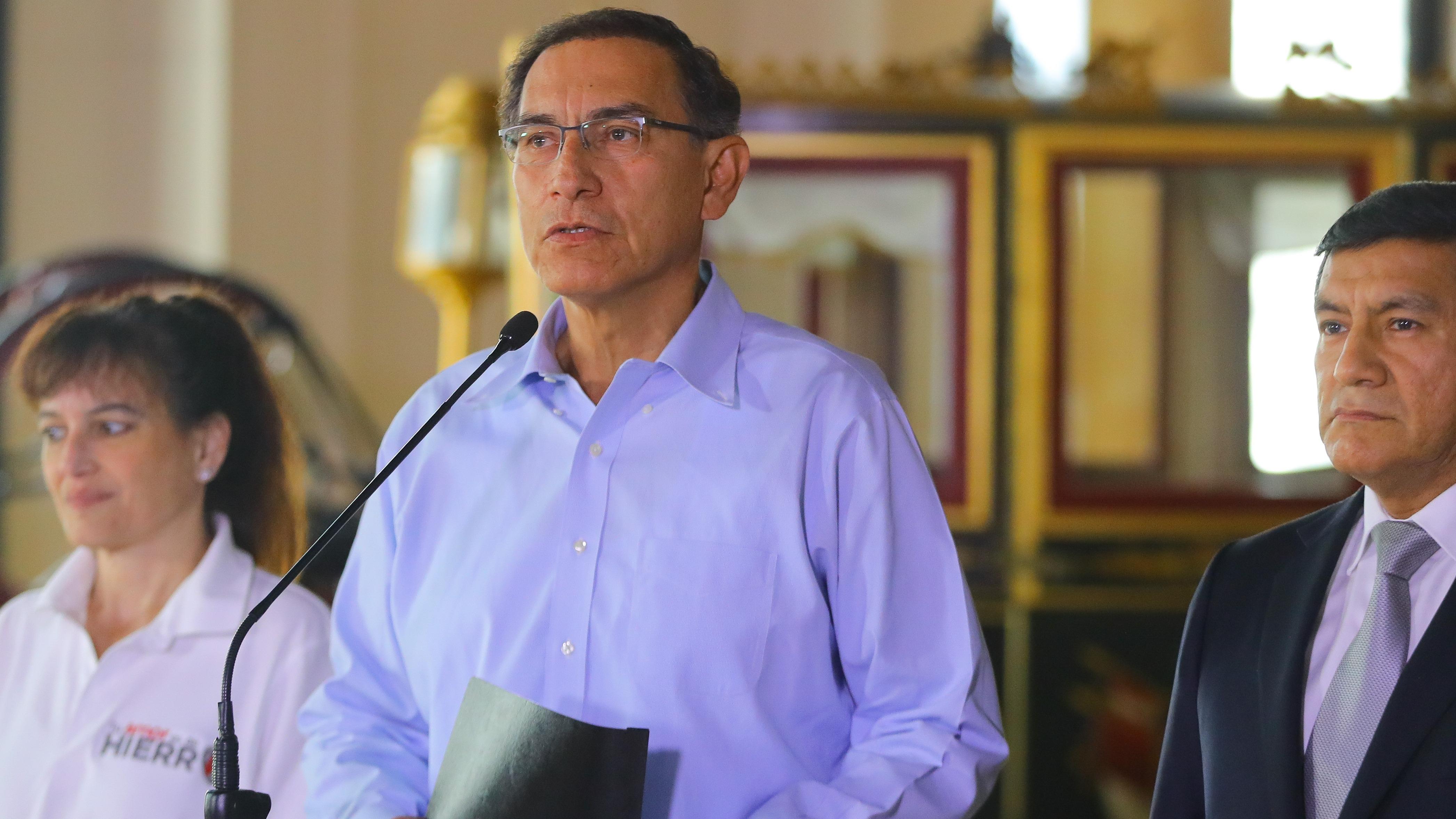 Vizcarra se pronunció tras fallo del TC.