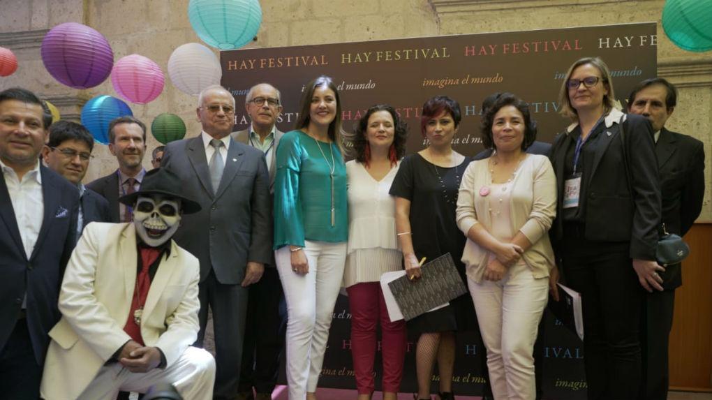 RPP Noticias conversó con Patricia Balbuena, ministra de Cultura, durante la inauguración del Hay Festival Arequipa 2018.