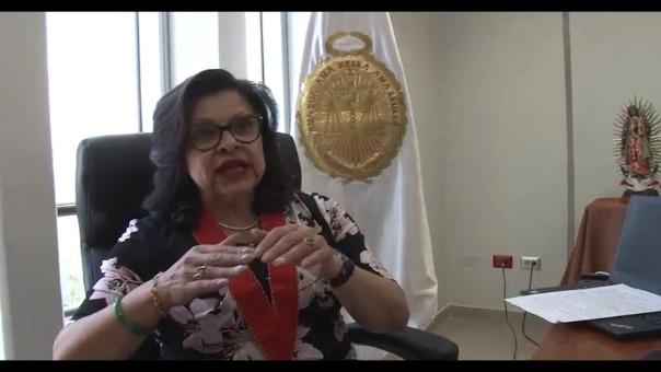 Presidenta de la Junta de Fiscales Superiores de Arequipa, Miriam Herrera.