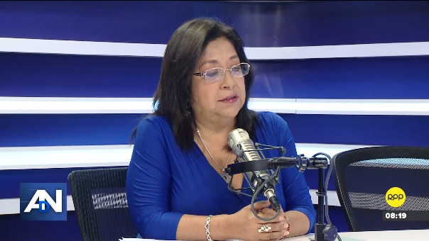 María Elena Foronda, congresista del Frente Amplio.
