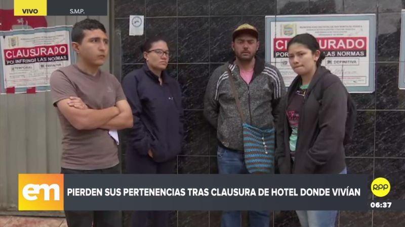 Los venezolanos denunciaron su caso a través de RPP Noticias.